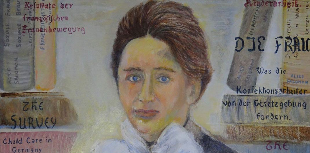 DESSA Die Kunst des Gedenkens-Alice Salomon